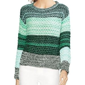 New Vince Camuto Color Block Drop Shoulder Sweater